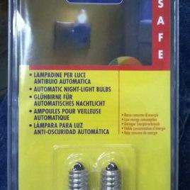 2 Lampadine per Luce Antibuio Automatica