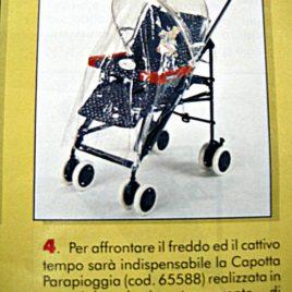 Capote + Parapioggia per Chicco Svelto