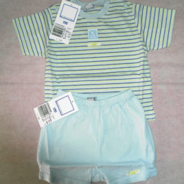 T-shirt + Bloomer Jersey – 9 mesi