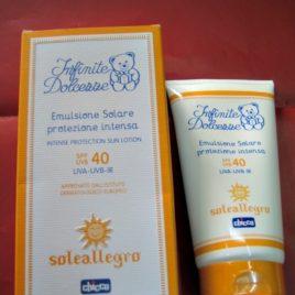 Emulsione Solare Chicco protezione intensa, 40