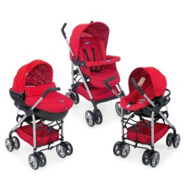 Trio Chicco Sprint – Red