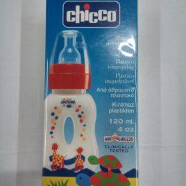 Biberon Mangialibero – Plastica – Silicone – 120ml – 4m+