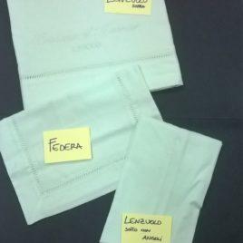 Lenzuolo Sopra + Lenzuolo Sotto + Federa - Carrozzina