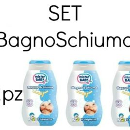 Set 12 BagnoSchiuma